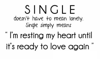 Single simply means